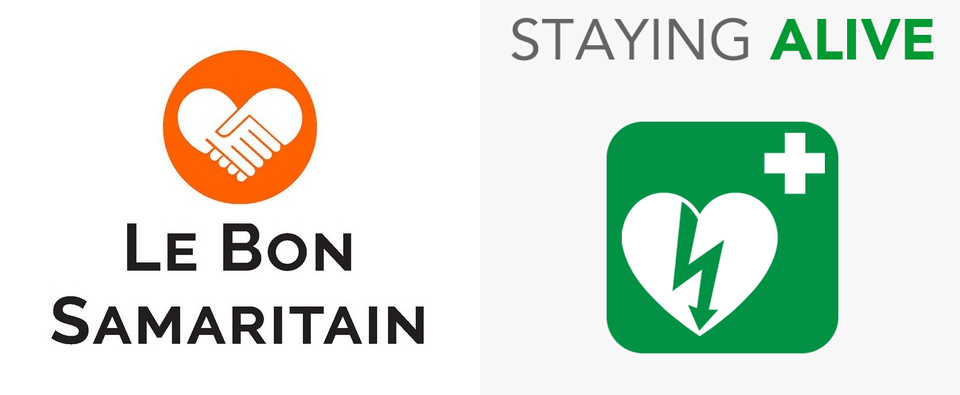LeBonSamaritain&StayingAlive_Logos